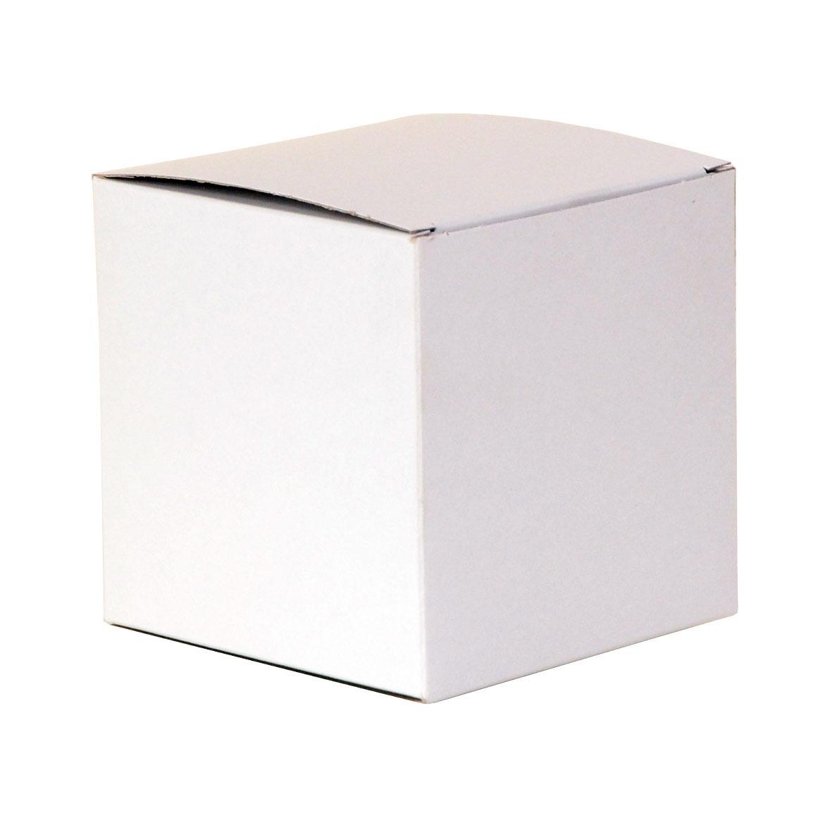 bo te blanche en carton 10x10