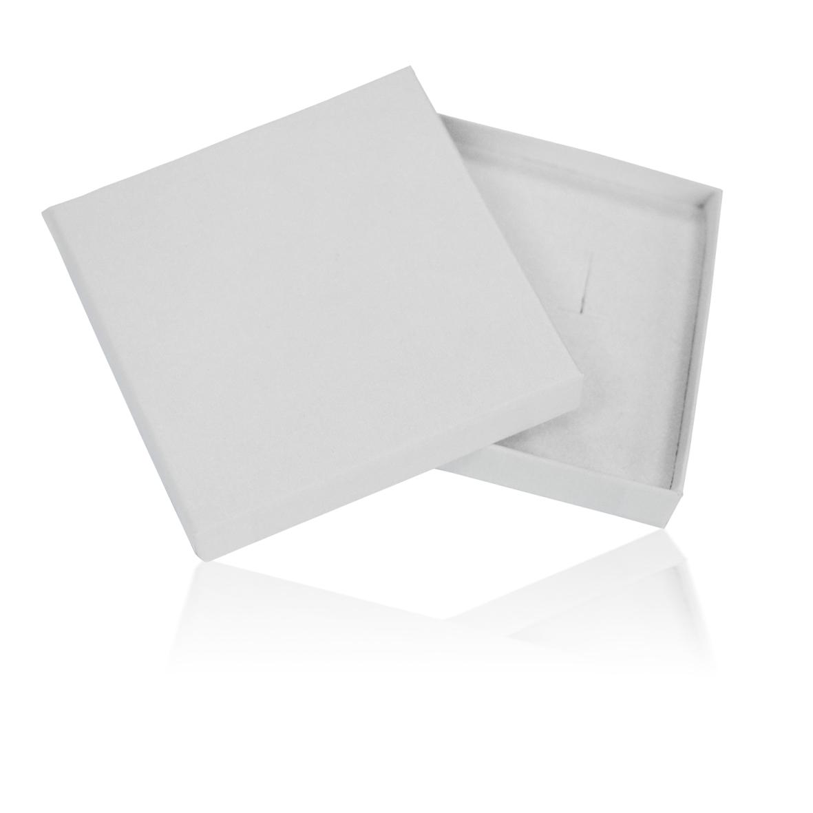 mini boite ultra plate blanche carton rigide avec mousse int gr e bbwp86. Black Bedroom Furniture Sets. Home Design Ideas