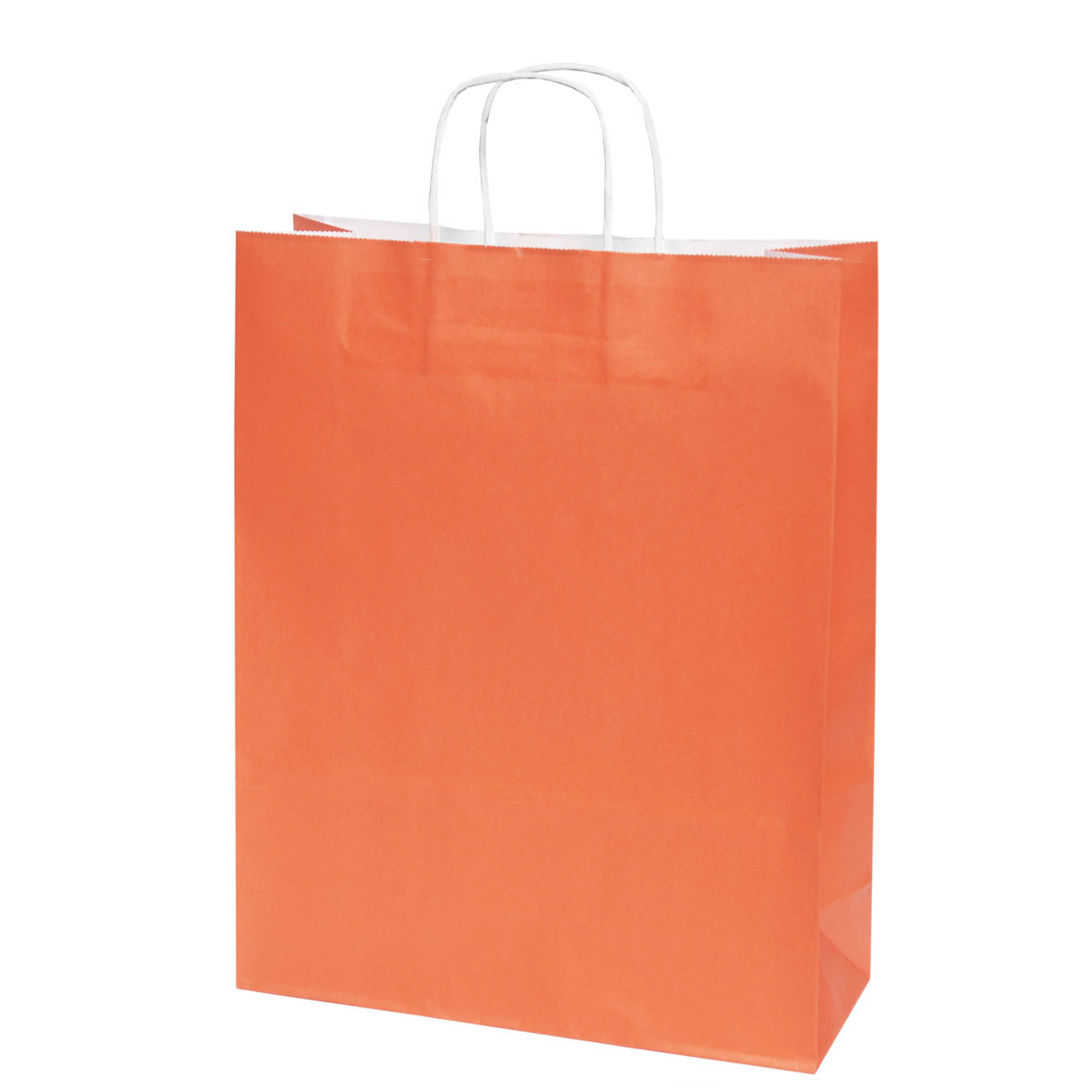 Sac Cadeau Kraft Orange